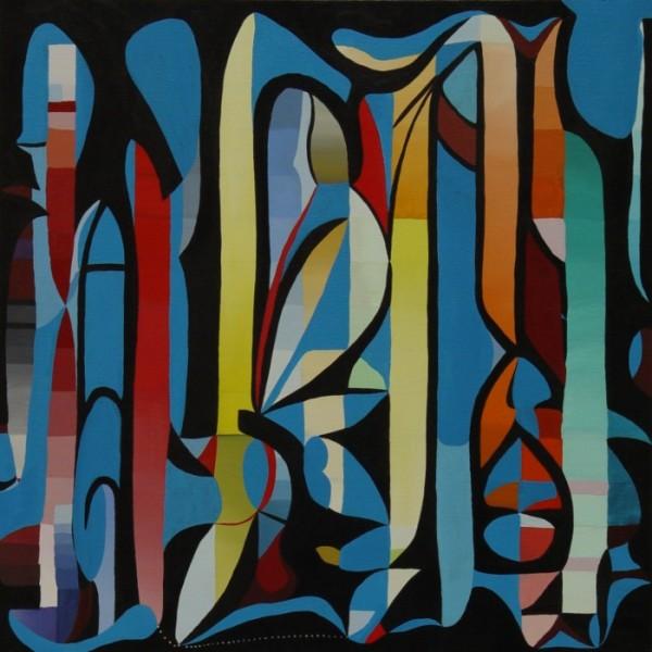 """Acrylic on canvas 36""""x36"""""""