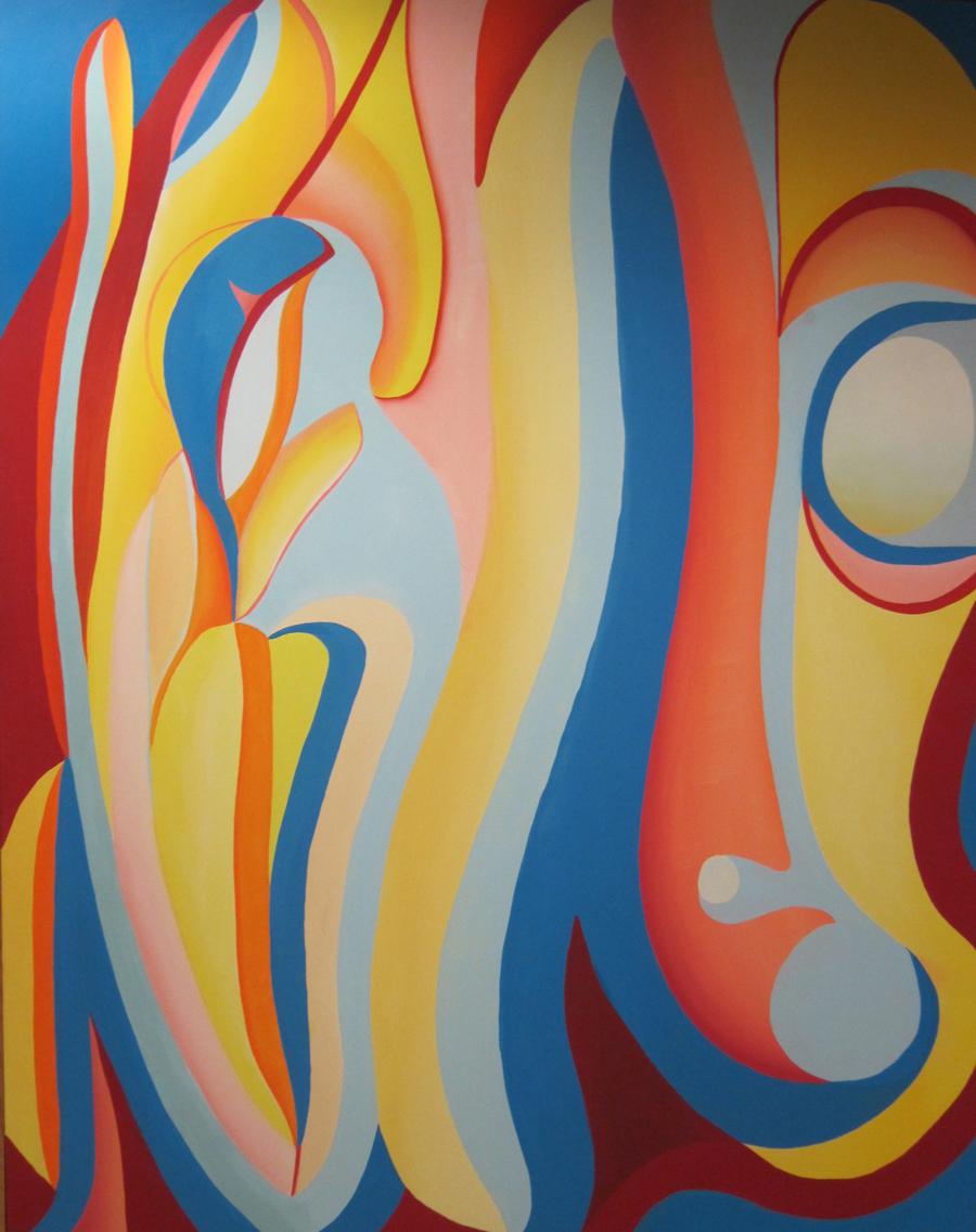 """Acrylic on Canvas - 48""""x 60"""""""